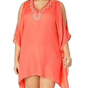 Lucky Brand Beach Cover up size M/L NWT